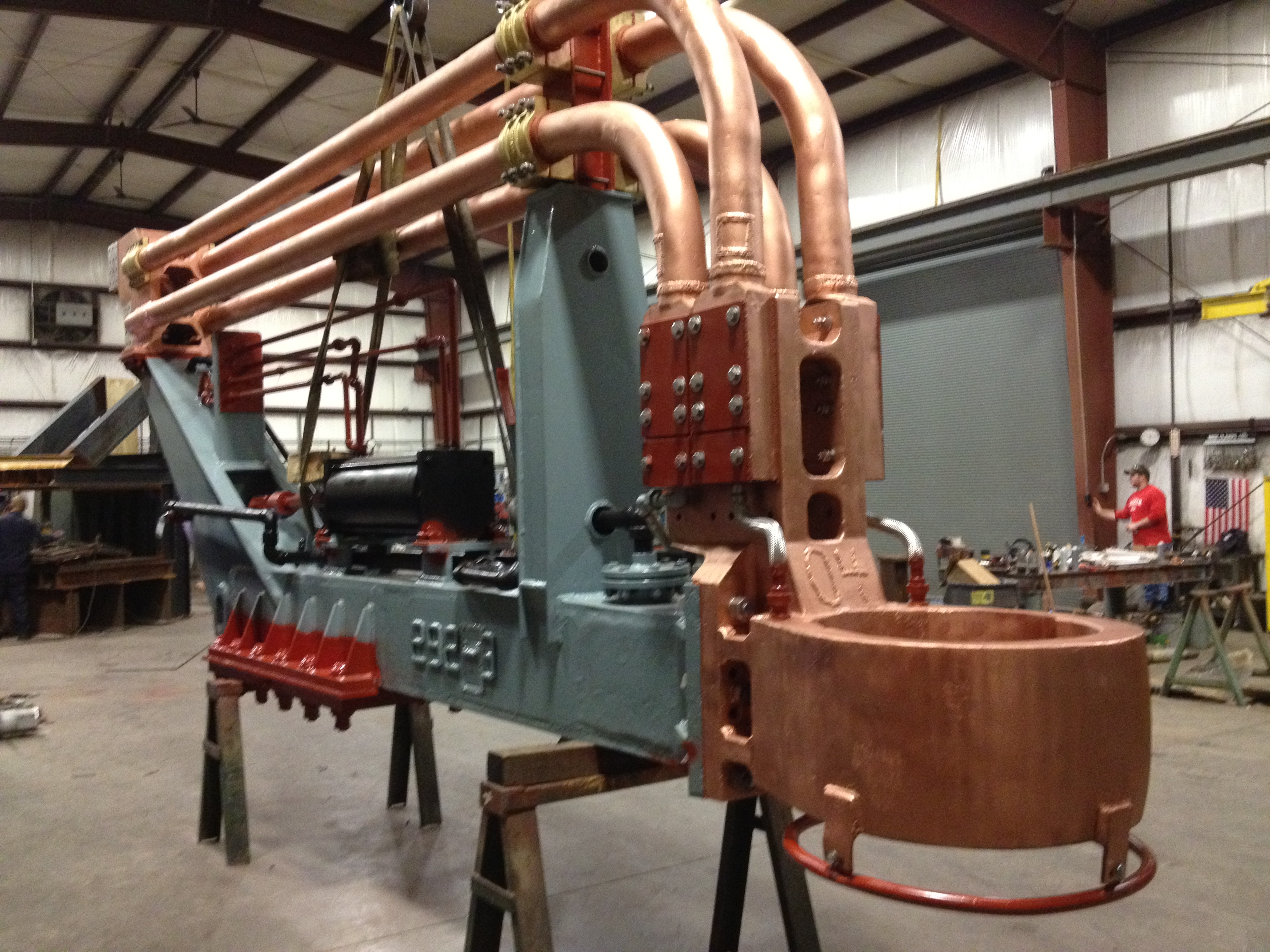 Precisioned Components  Electric Arc Furnace Repair And Copper Welding